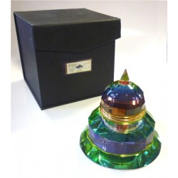"Perfume Musk d'Or ""Al-Quds"" crystal bottle in the shape of the Dome of the Rock - Men"