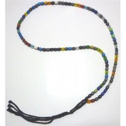 "Ultra-resistant multicolored ""Sebha"" rosary (99 oval beads)"