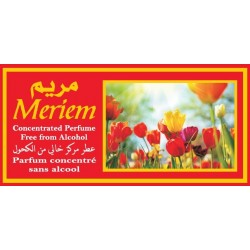 "Concentrated perfume without alcohol Musc d'Or ""Meriem"" (3 ml) - For women"