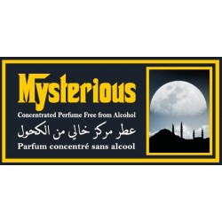 """Concentrated perfume without alcohol Musc d'Or """"Mysterious"""" (3 ml) - For men"""