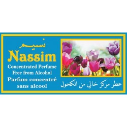 """Concentrated perfume without alcohol Musk d'Or """"Nassim"""" (3 ml) - For men"""