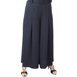Culottes with pleated waist and belt (Several colors available)