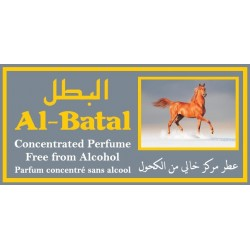 """Concentrated perfume without alcohol Musk d'Or """"Al-Batal"""" (3 ml) - For men"""