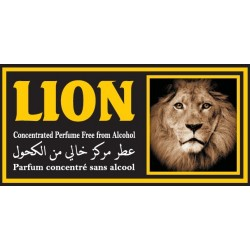 "Concentrated perfume without alcohol Musc d'Or ""Lion"" (3 ml) - For men"
