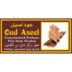 """Concentrated perfume without alcohol Musk d'Or """"Oud Aseel"""" (3 ml) - For men"""