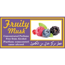 """Concentrated perfume without alcohol Musc d'Or """"Fruity Musk"""" (3 ml) - Mixed"""