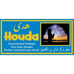 """Concentrated perfume without alcohol Musc d'Or """"Houda"""" (3 ml) - For women"""
