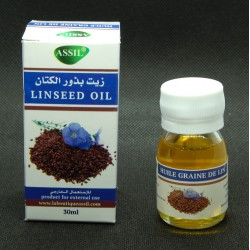 Flaxseed oil (30 ml) for hair