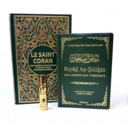 Pack Coran (arabe - français - phonétique) + Riyâd As-Sâlihîn - Les Jardins des...