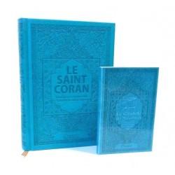 Pack Le Saint Coran et la Citadelle du Musulman (français / arabe / phonétique) couleur...