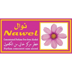 "Concentrated perfume without alcohol Musk d'Or ""Nawel"" (3 ml) - For women"
