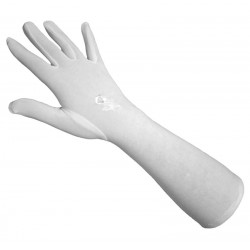 Pair of white gloves for women ideal for jilbeb (white glove)