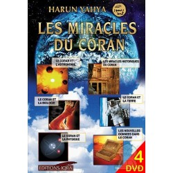 DVD The miracles of the Koran (4 DVD)