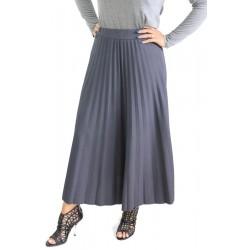 Jupe longue plissée (Plusieurs couleurs disponibles)