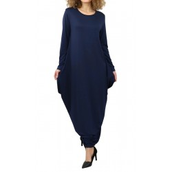 Long flared dress (several colors available)