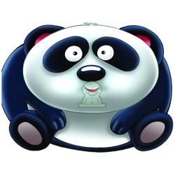 Apprends en t'amusant avec le panda (Coloriage + découpage + stickers) - تعلم والصق...