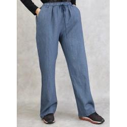Pantalon à fines rayures (Plusieurs couleurs disponibles)