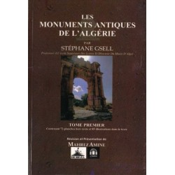 Les monuments antiques de l'algérie - en deux tomes