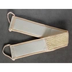 Exfoliating massage strap