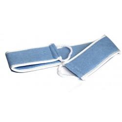 Exfoliating massage strap for the back (70 cm)