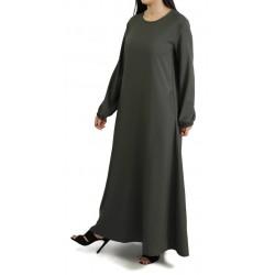 Robe longue ample - Marque Amelis Paris - Couleur kaki