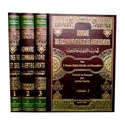 Sommaire des recommandations et des avertissements (Tahdhib At-Targhîb Wa-Tarhîb - 3...