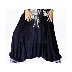 Loose seroual for women - Midnight blue color