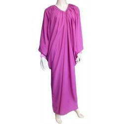Robe Abaya modèle papillon - Taille standard - Fuchsia