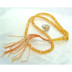 Sebha pack and matching ring in orange color