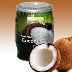 Natural Edible Coconut Oil - 400 ml