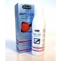 Anti-lice shampoo (supplied with a comb) - Hemani Anti-lice shampoo