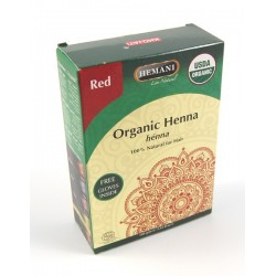 Organic henna for red coloring - 100% natural without chemicals