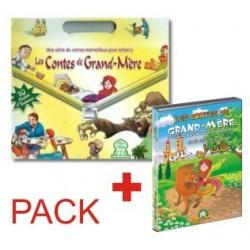 Pack 10 Livres + le DVD : Contes de grand-mère (version française)