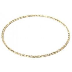 Women's fancy bracelet in fine ornate gold metal