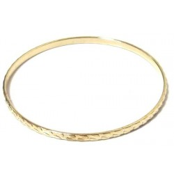 Women's fancy bracelet in golden metal decorated with ornaments