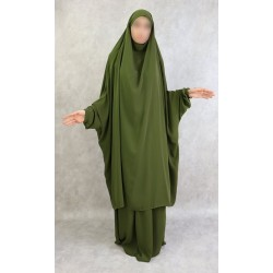 Adult jilbab 2 pieces - Cape + Flared skirt - Jilbab for muslim women (Several colors...
