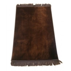 Luxury carpet Grand Confort (padded and ultra-comfortable) brown - No pattern