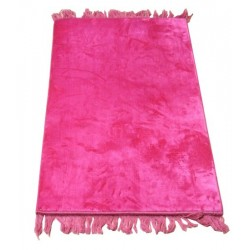 Luxury carpet Grand Confort (padded and ultra-comfortable) candy pink - No pattern