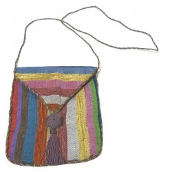 Pouch / Bag in Moroccan Sabra fabric in multiple colors
