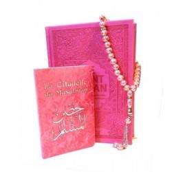 Pack cadeau pour femme : Le Noble Coran et la traduction en langue française de ses...