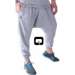 Jogging harem pants - Color: Light gray