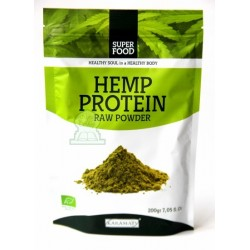 Super food: Raw hemp powder 200g - Hemp Protein