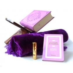 Pack cadeau mauve : Le Noble Coran (bilingue français/arabe) + La Citadelle du Musulman...