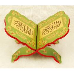 Traditional decorated wooden Koran door - Book Support (38.5 x 28 cm)