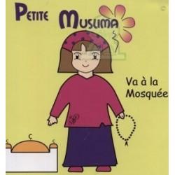 Petite muslima va à la mosquée