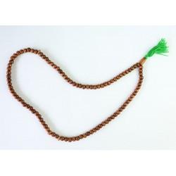 Traditional handmade 99-grain wooden rosary (Sebha) (29 cm)