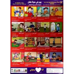 Le Poster du Petit musulman : La vie quotidienne d'un enfant