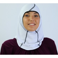 Best Ummah women's sport hijab - White