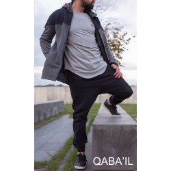Qaba'il MONTANA coat - Charcoal gray