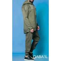 Qaba'il MONTANA coat - Khaki Green